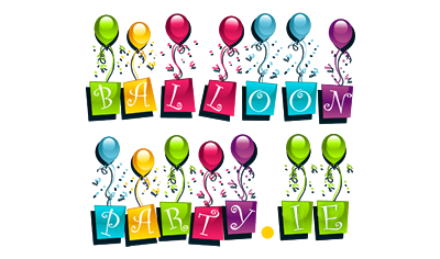 Party Balloons, Personalised balloons, number balloons, birthday balloons